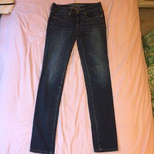 Skinny Jeans Medium Wash American Eagle